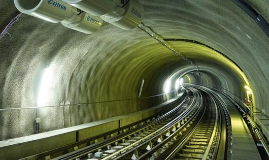 Soluciones BASF son incorporadas en la construcción del túnel ferroviario más largo del mundo