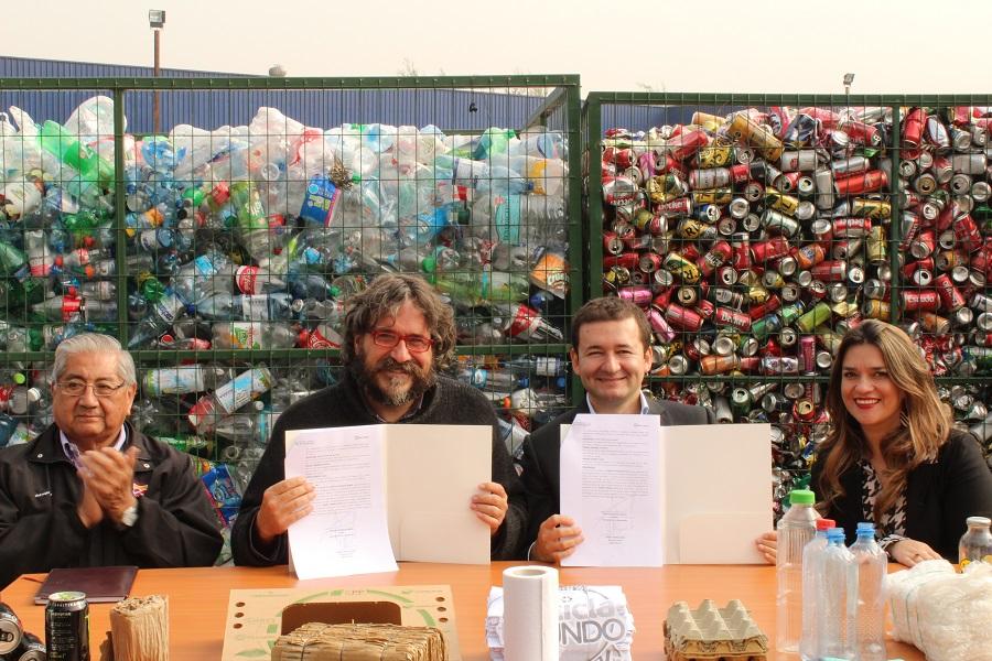 Hasta 40 mil kilos de material reciclable serán retirados de 680 empresas de Ciudad Empresarial