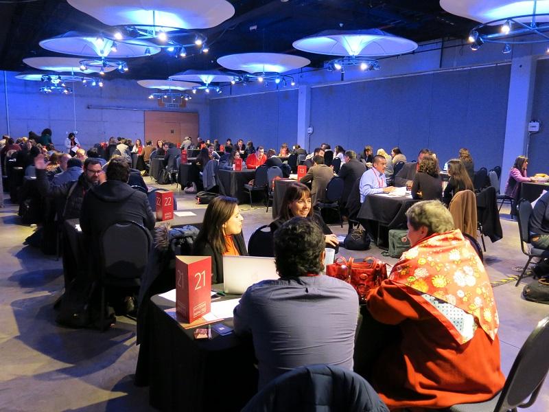 Más de 400 reuniones comerciales congregó la primera ronda de negocios con impacto en Chile