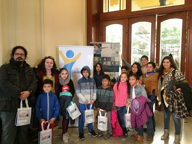 Fundación Ciudad del Niño y Gasco entregan una entretenida mañana a niños de Quilicura