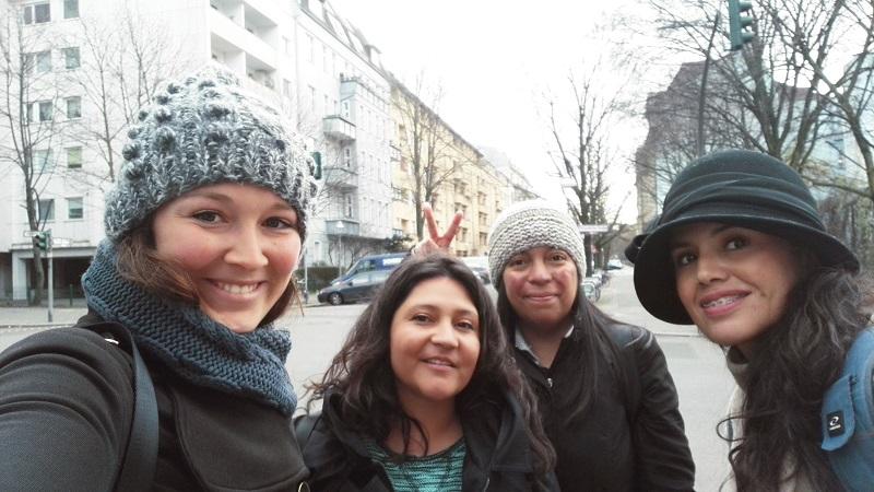 Artesanas de la región metropolitana viajan a Europa para un recorrido de prospección comercial