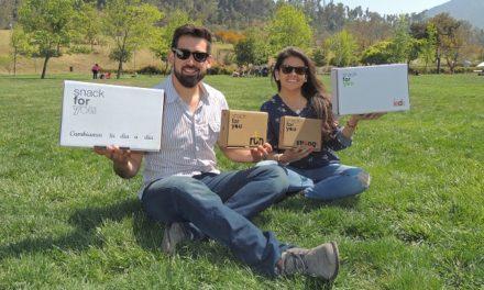 Jóvenes emprendedores promueven la alimentación y la vida saludable