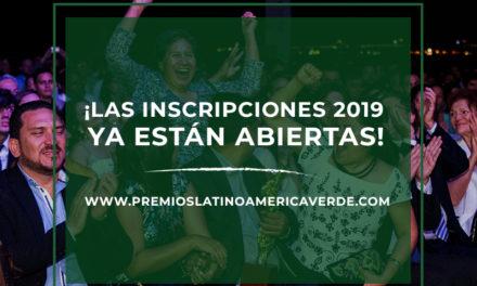 Aún queda tiempo para inscribir tu proyecto en Los Premios Latinoamérica Verde
