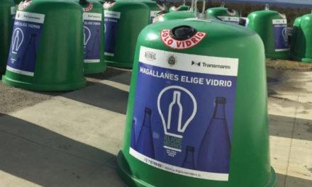 Magallanes y Elige Vidrio se unen en la campaña de reciclaje más austral del mundo