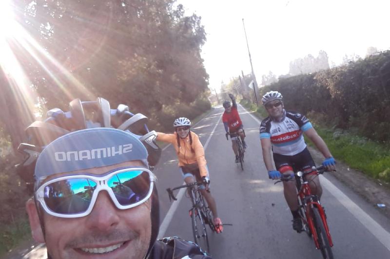 Fomentar el deporte y mejorar la calidad de vida de los colaboradores: los objetivos de la Rama de ciclismo de Aguas Andinas