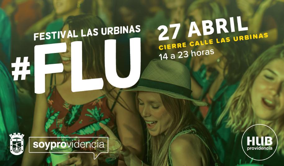 Artistas, emprendedores y restaurantes se apoderan de Providencia en FLU: Festival de Las Urbinas