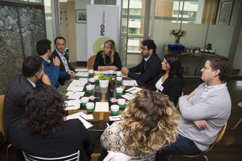 Más de 40 líderes se reunieron para dialogar sobre el Cambio Climático y el desafío que conlleva para la sustentabilidad de los negocios y la humanidad en en Mesas Redondas PROhumana