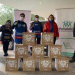 Sodimac, Movidos x Chile y la Municipalidad de Peñalolén entregarán cajas de alimentos para ayudar a vecinos de Peñalolén